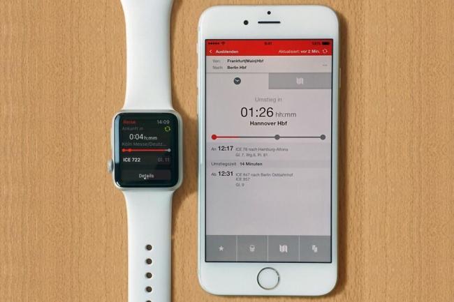 db navigator apple watch