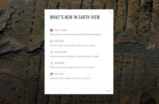 earthview update