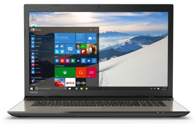 toshiba satellite l