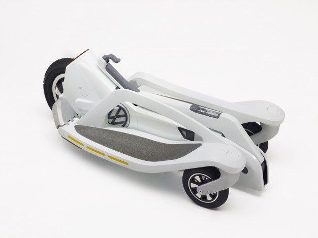 VW E-Roller zusammengeklappt