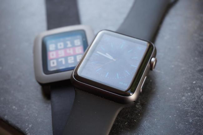 Apple Watch Pebble Time Smartwatch