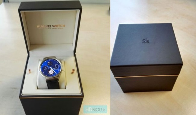 Huawei Watch Verpackung