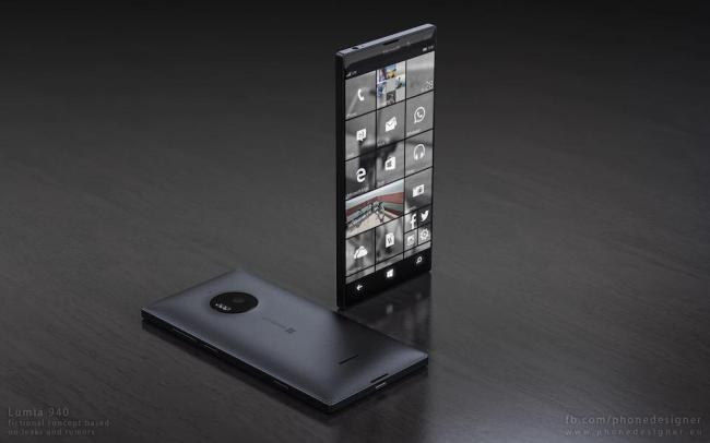 Lumia 940 Konzept 3