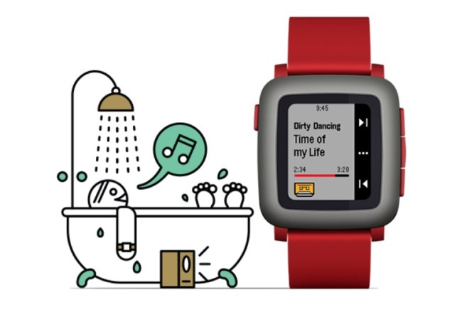 Pebble Time Musik