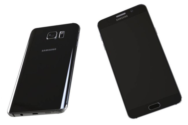 Samsung Galaxy Note 5 Render Header