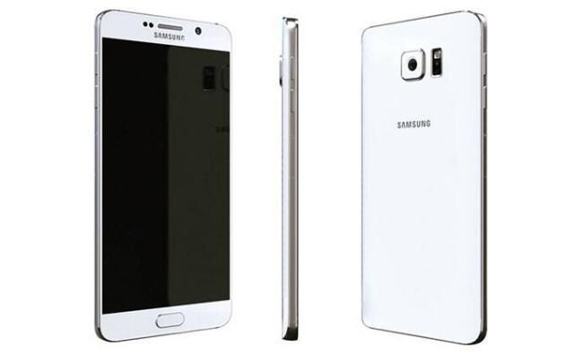 Samsung Galaxy note 5 Render Weiß