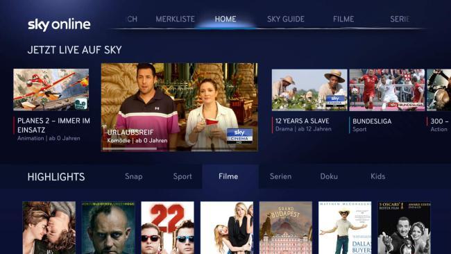 Sky Online_LG SmartTV