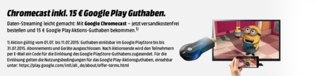 chromecast play media markt