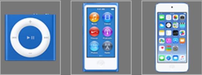 iPods 2015 Blau