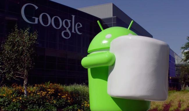 Android 6.0 Marshmallow Google Header
