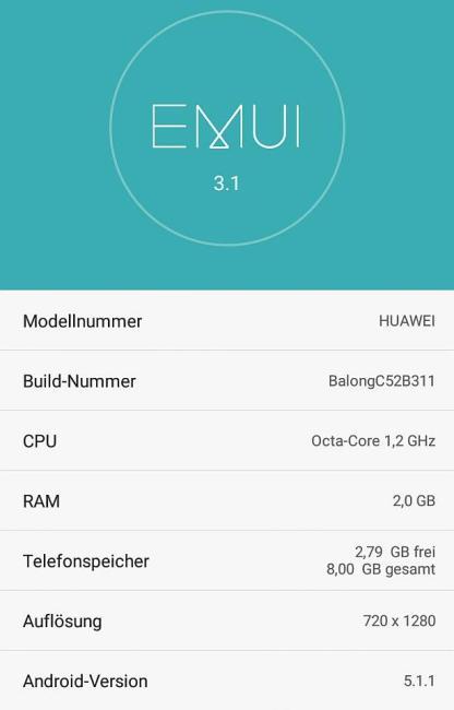 EMU 3.1 Honor 4X Lollipop