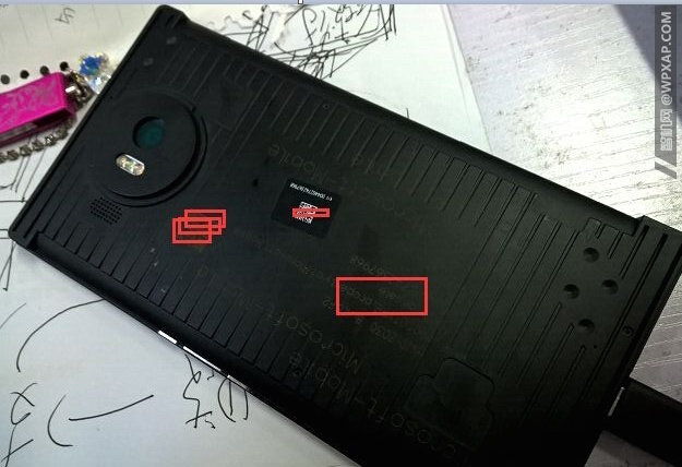 Lumia 950 XL Prototyp Rückseite
