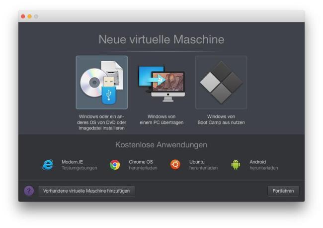 Parallels Desktop 11 für MAC 03