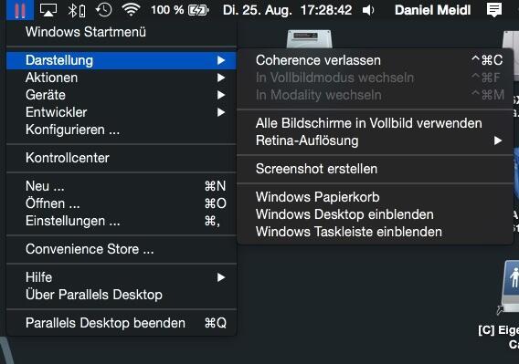 Parallels Desktop 11 für MAC 07