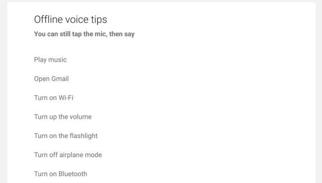Google Offline Spracherkennung