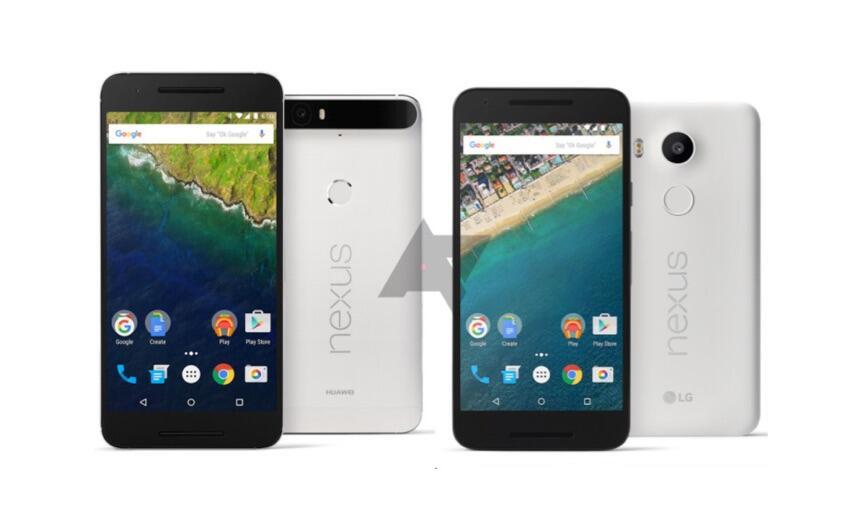 Nexus 5X 6P Leak