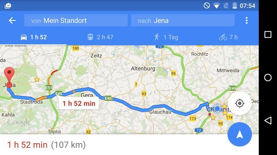Google Maps Fur Android Bekommt Navigation Uber Wegpunkte