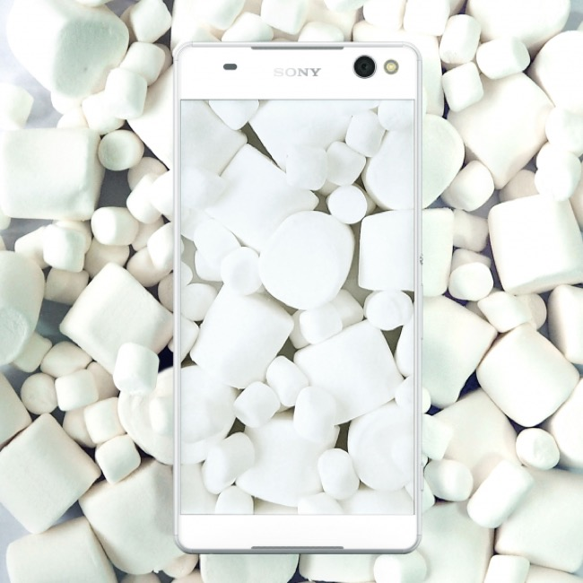 Marshmallow Update-sony