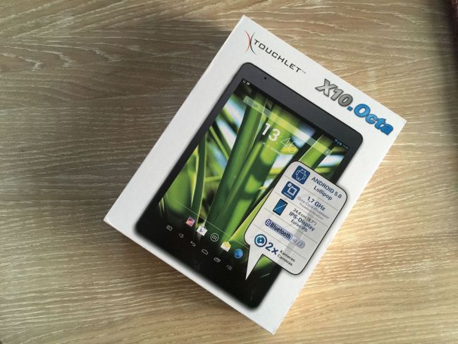 Pearl Touchlet X10.Octa1
