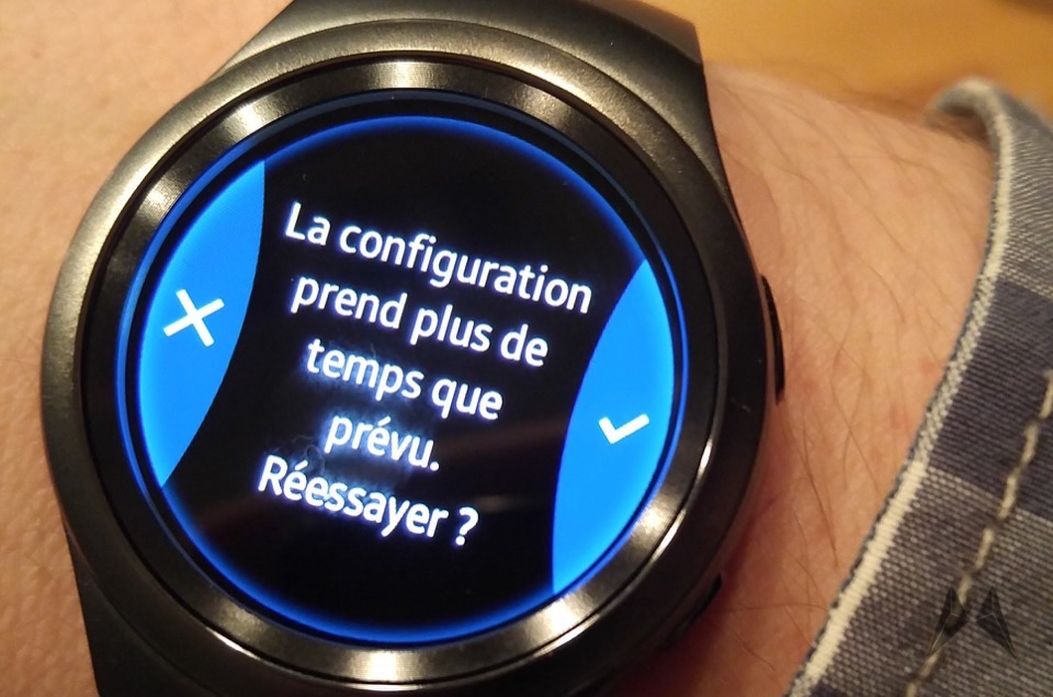Samsung Gear S2 Französisch