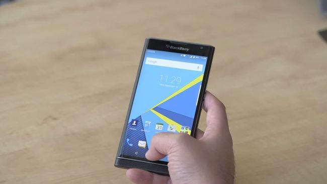 blackberry priv video