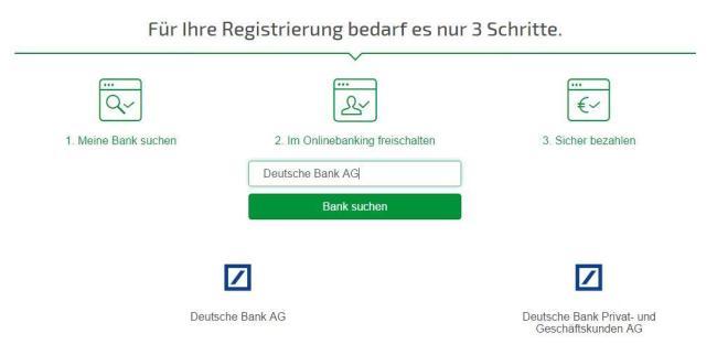 paydirekt registrierung