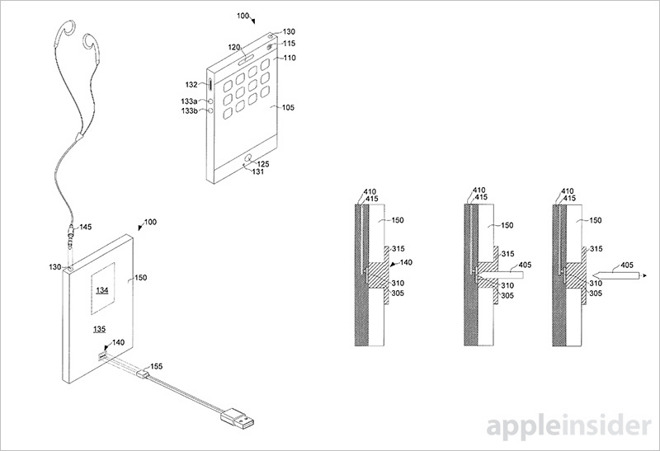 Apple Patent wasserdicht iPhone