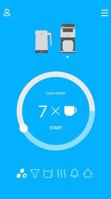 Smarter Kaffe und Wasserkocher