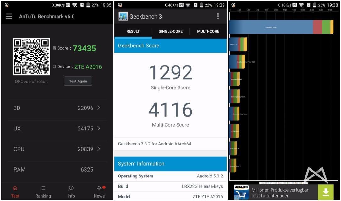 ZTE AXON mit Snapdragon 810