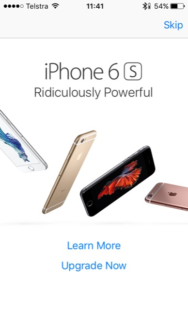 apple iphone ad app store