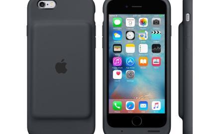 iPhone 6s Smart Battery Case Grau Header
