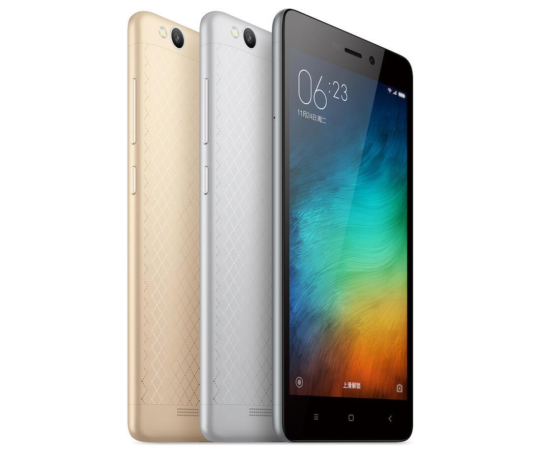 Xiaomi Redmi 3 Frontseite