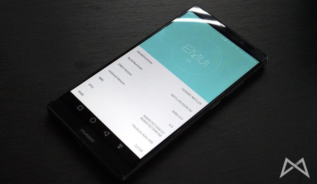 Huawei Mate 8 EMUI
