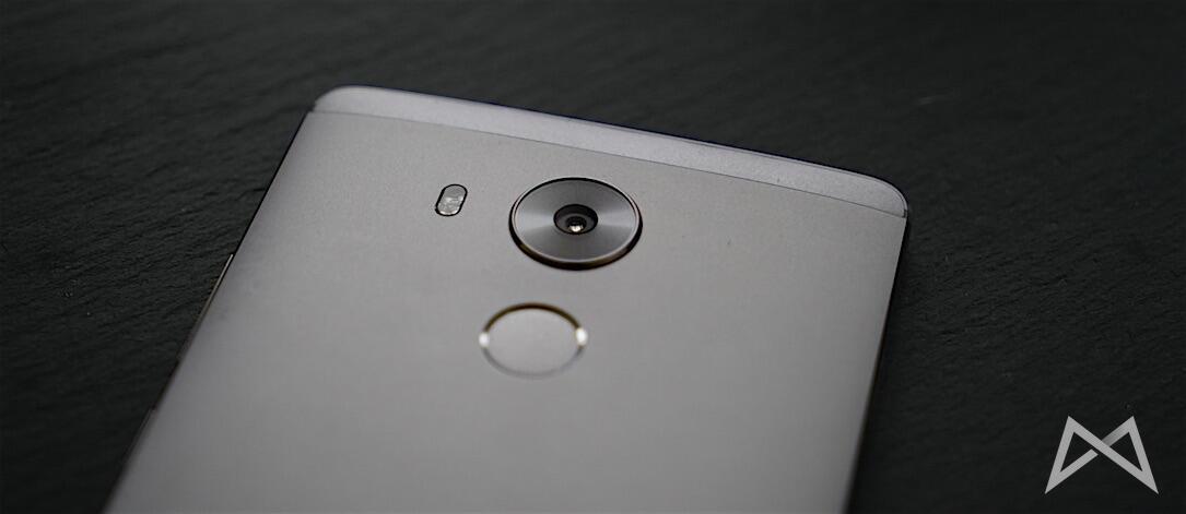 Huawei Mate 8 Kamera und Fingerabdrucksensor