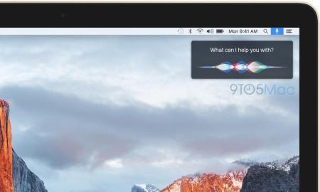 Mac OS X Siri Mockup