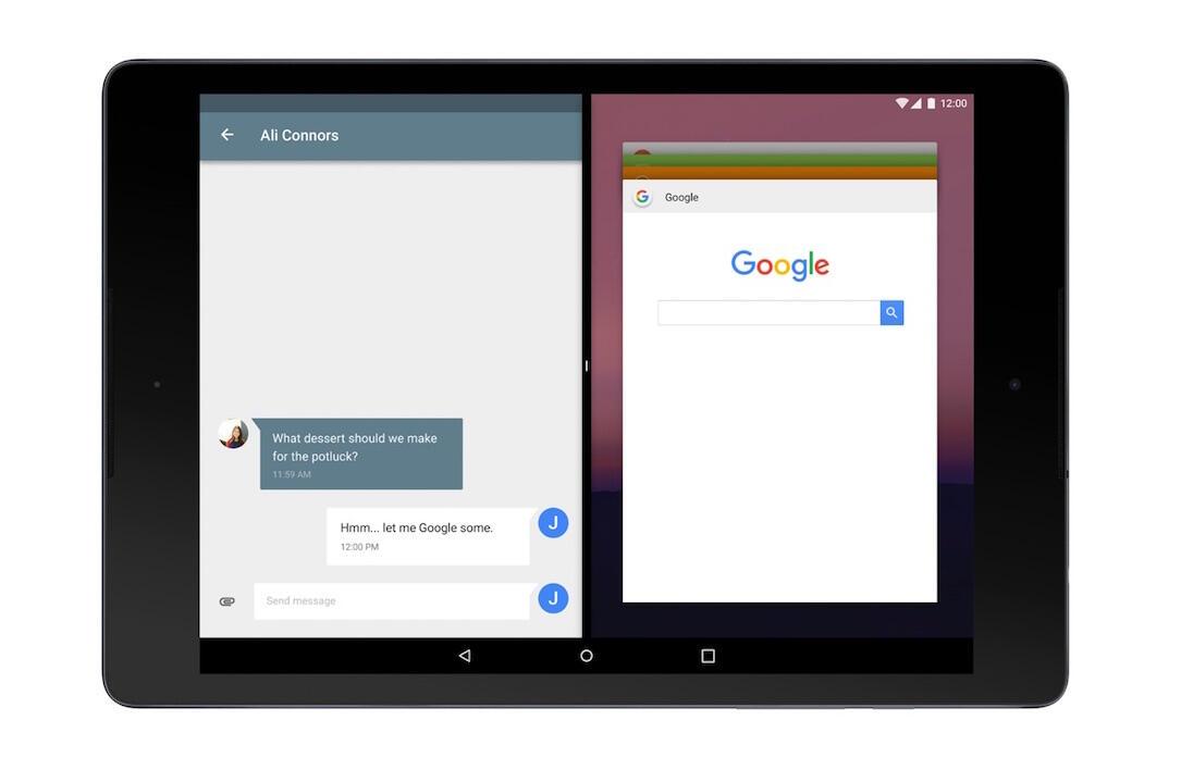 Android N Split Screen