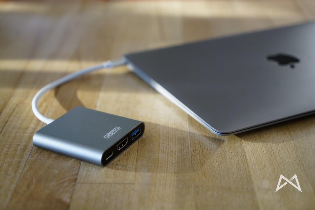 Choetech USB Typ C HDMI Macbook 2015_DSC3293