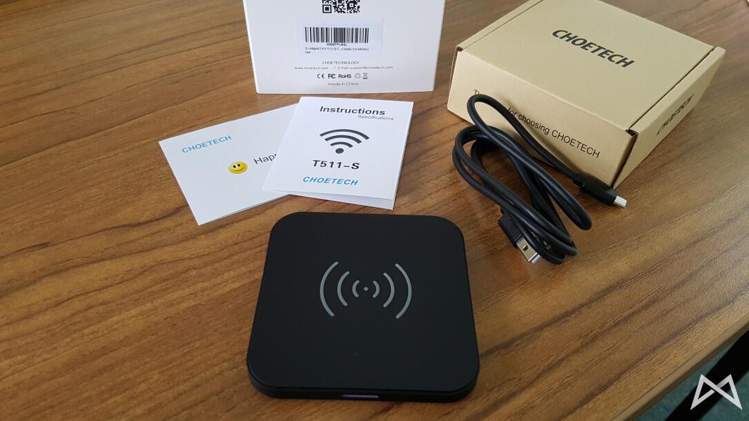Choetech fast wireless charging QI 20160315_102729