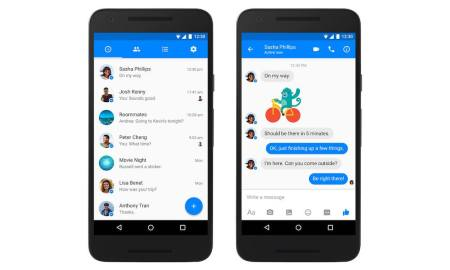 Facebook Messenger Android Header