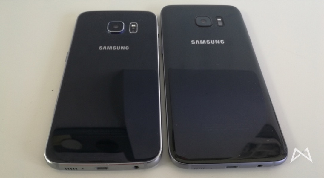 Galaxy S6 edge und Galaxy S7 edge