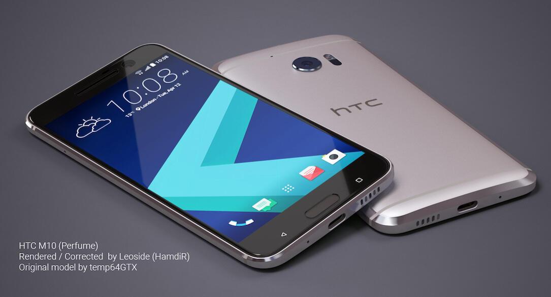 HTC 10 Konzept Silber