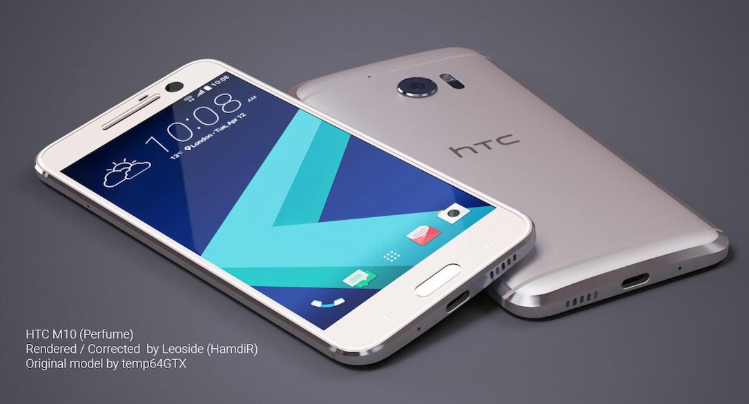 HTC 10 Konzept Weiß