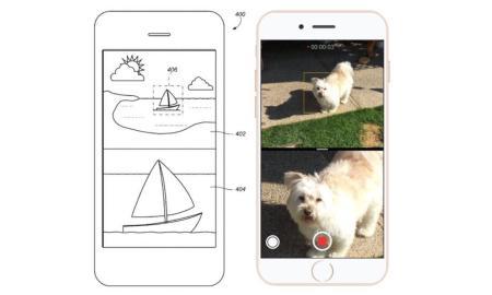 iPhone Dual Camera Patent