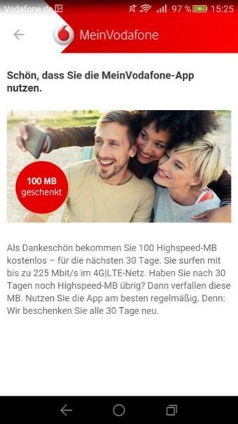 vodafone 100 mb meinvodafone