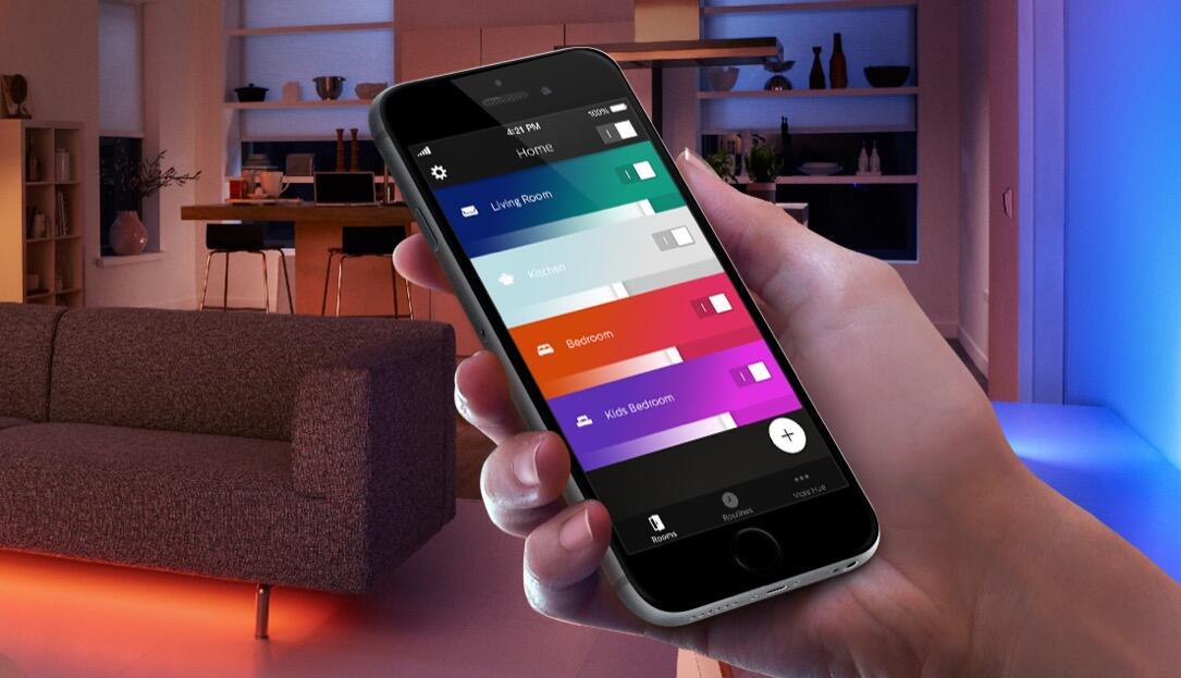 Starten Philips Hue : Philips verbessert hue app
