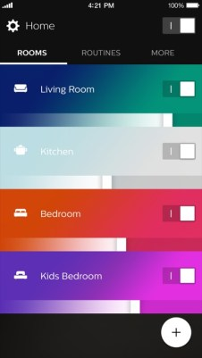 2_1_Philips_Hue_app_home_dashboard