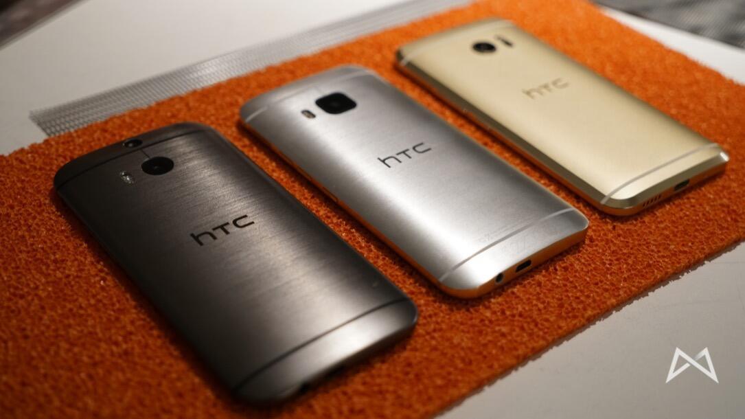 HTC M9 M8 und HTC 10 _DSC3681