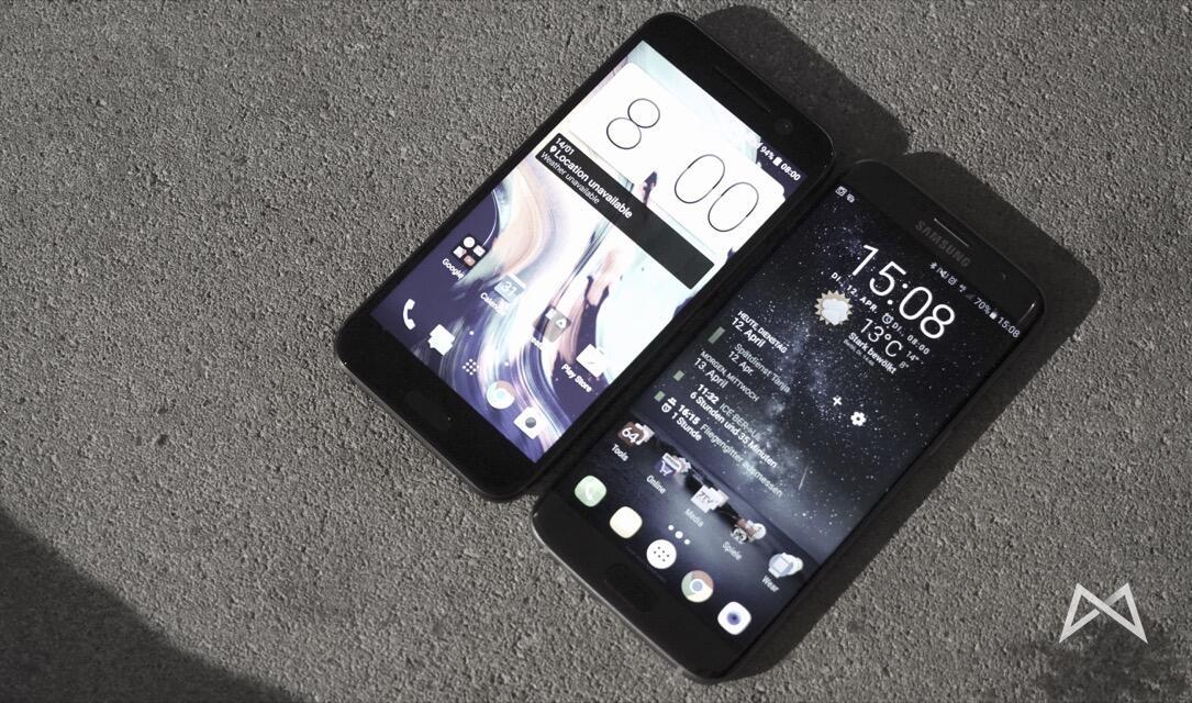 Samasung Galaxy s7 edge und HTC 10 _DSC3675