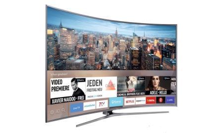 Samsung Smart TV Header
