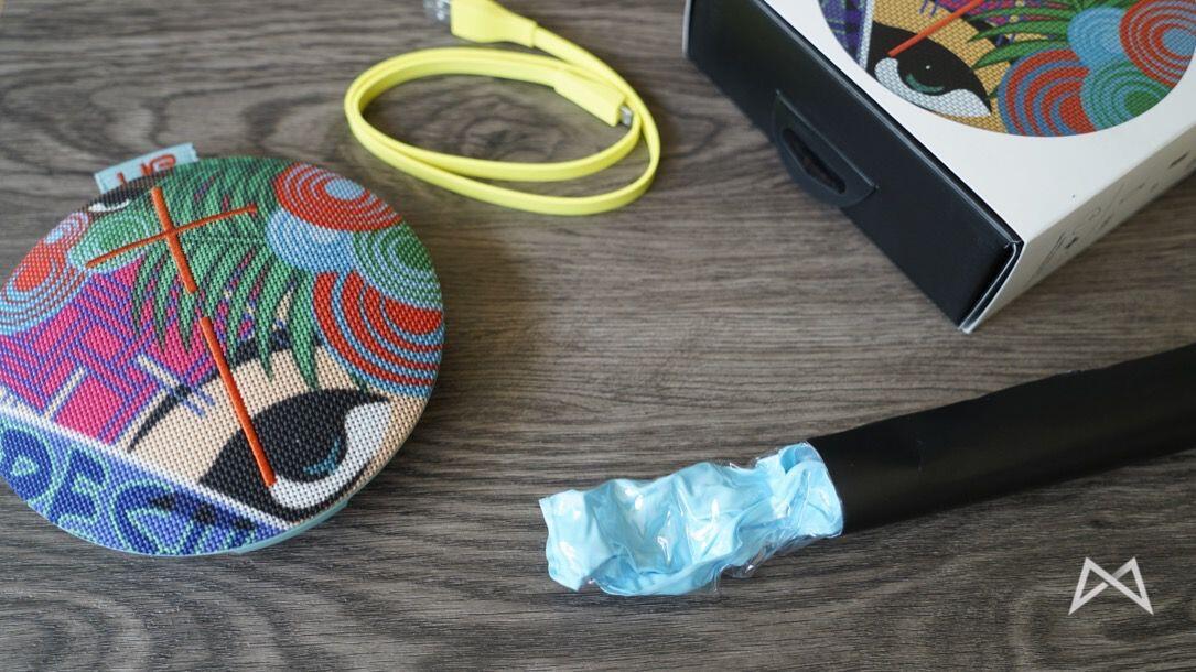 Ultimate Ears Roll 2 Speaker Lieferumfang